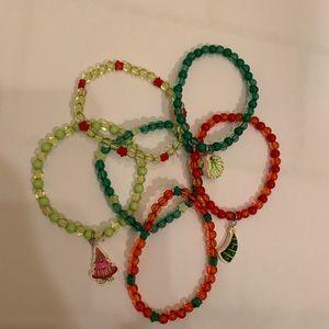 Other - Stretchy Christmas Bracelets